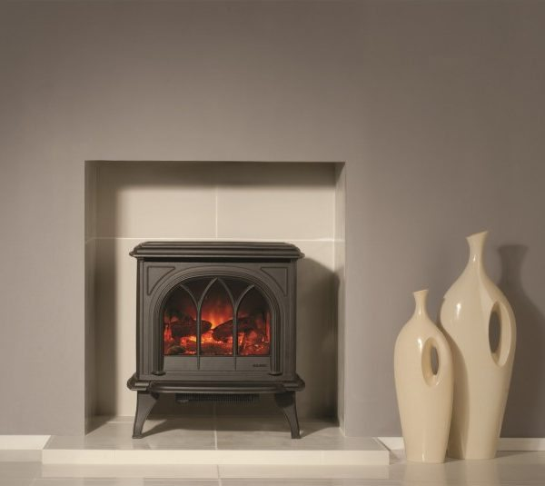 Gazco Huntingdon 30 Electric Stove by West Country Fires, Fireplace showrooms in Southampton, Hampshire, UK