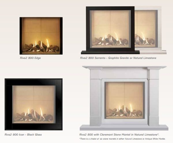 Gazco Riva2 800 Gas Fire by West Country Fires, Gas Fires Southampton, Hampshire, UK