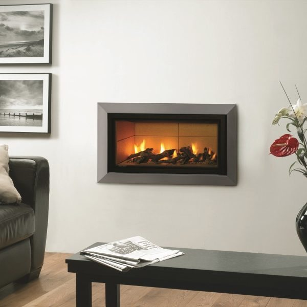 Gazco studio 1 glass fronted Gas Fire by West Country Fires, Gas Fires Southampton, Hampshire, UK
