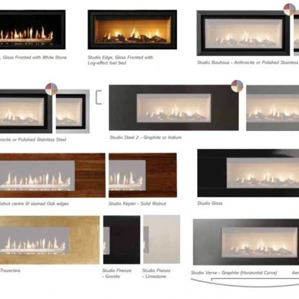 Gazco studio 2 open fronted Gas Fire by West Country Fires, Gas Fires Southampton, Hampshire, UK