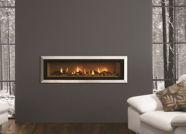 Studio 1 2 3 Glass Fronted Gas Fire by West Country Fires, Gas Fires Southampton, Hampshire, UK