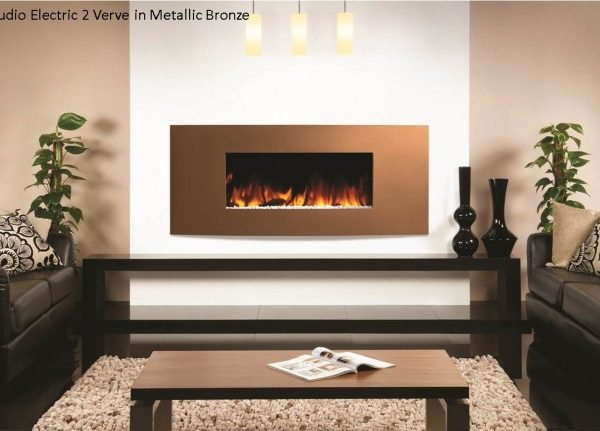 Gazco Studio Verve Electric Fire by West Country Fires, Fireplace showrooms in Southampton, Hampshire, UK