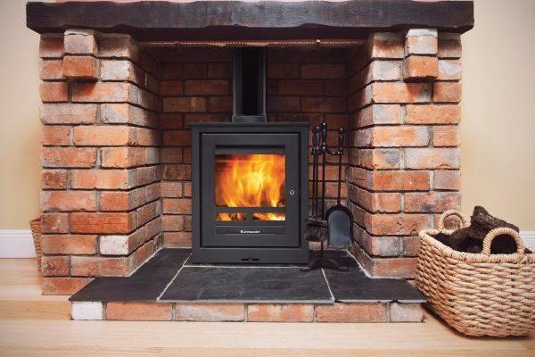 Jetmaster 18f wood burning stove by West Country Fires woodburning stoves Hampshire, UK