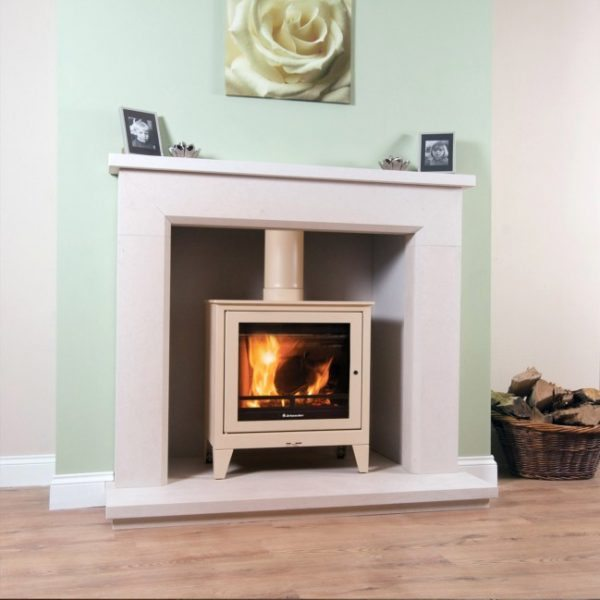 Jemaster 60f freestanding stove by West Country Fires woodburning stoves Hampshire, UK