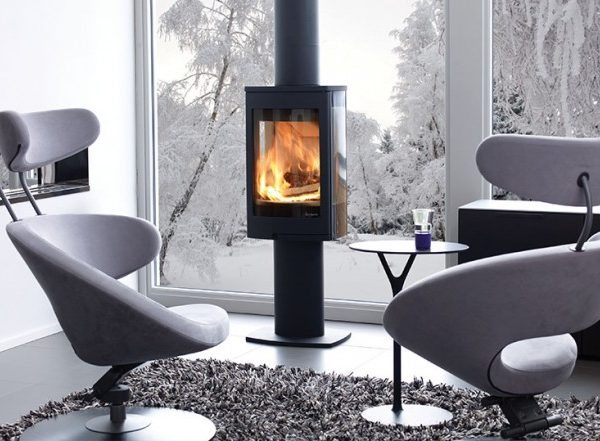 Nordpeis duo 1 woodburning stove by West Country Fires Totton, Hampshire, UK