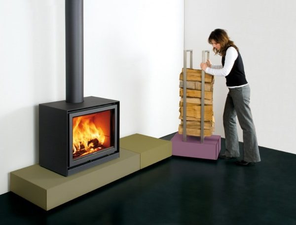 Stuv 16 cube woodburning stove by West Country Fires Totton, Hampshire, UK