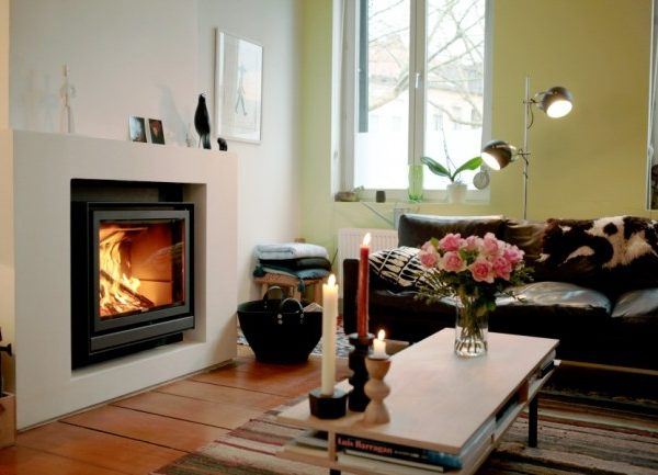 Stuv 16 inset woodburning stove by West Country Fires Totton, Hampshire, UK