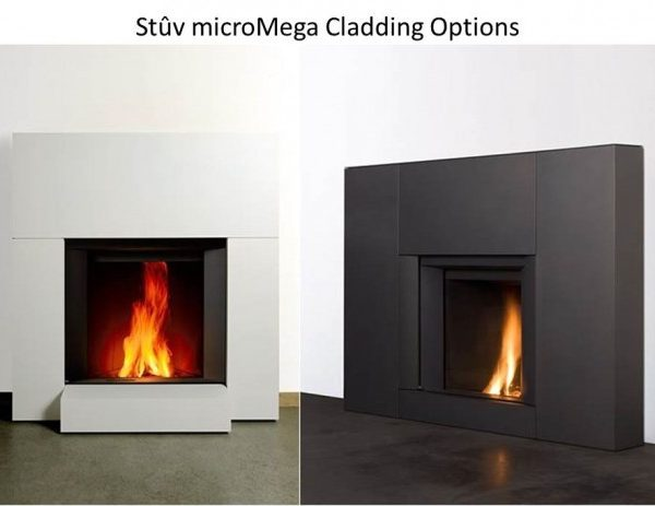 Stuv micromega woodburning fire by West Country Fires Totton, Hampshire, UK
