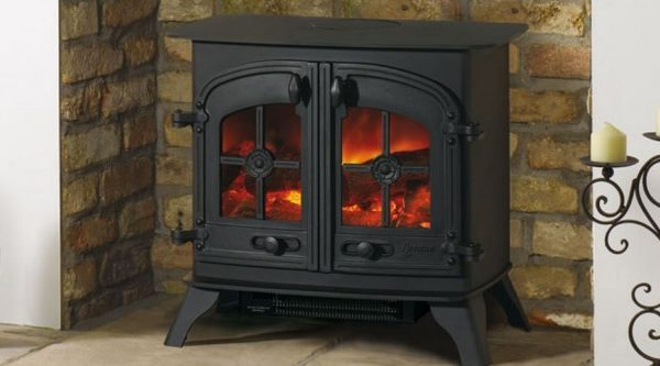 Yeoman Dartmoor Electric Stove by West Country Fires, Gas Fires Southampton, Hampshire, UK