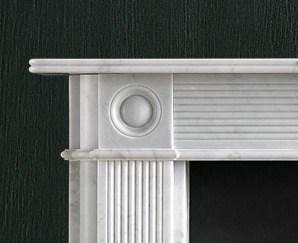 Chesney's Reeded Regency Bullseye Fire Surround - Fireplace Showrooms in Southampton, Hampshire