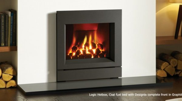 Gazco Logic Hotbox Gas Fire by West Country Fires, Gas Fires Southampton, Hampshire, UK