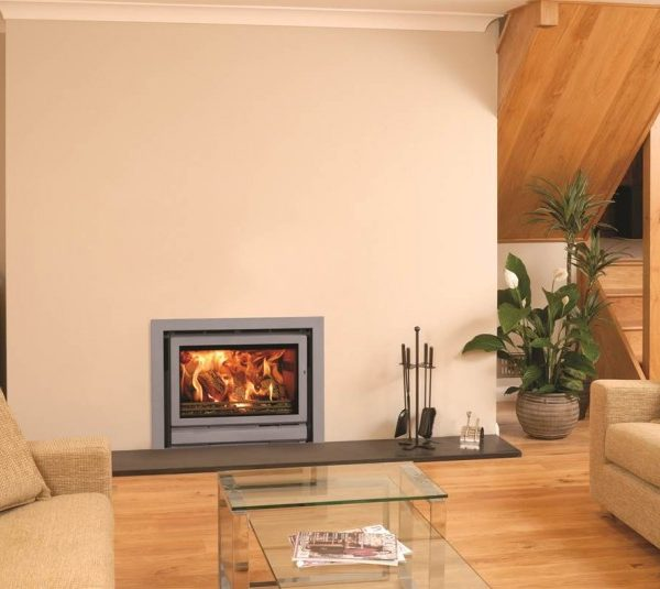 Stovax Riva 76 woodburning cassette stove by West Country Fires, Fireplace showrooms in Southampton, Hampshire, UK