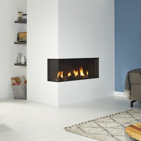 DRU Global 100 Corner BF Gas Fire by West Country Fires Gas Fires in Southampton, Hampshire, Uk