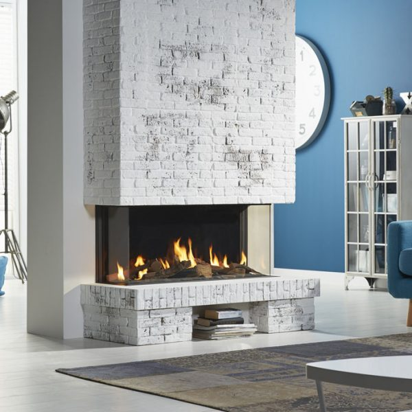 DRU Global 100 Triple Corner BF Gas Fire by West Country Fires Gas Fires in Southampton, Hampshire, Uk