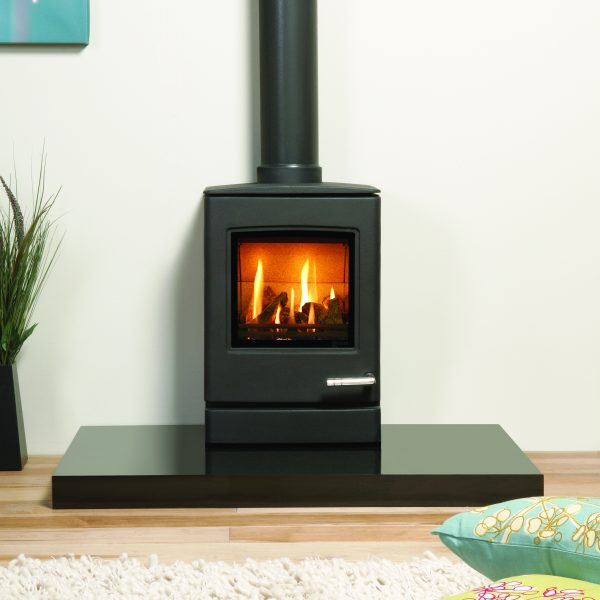 The Yeoman CL3 Gas Stove is the smallest of the new contemporary gas stoves from Yeoman. - Yeoman Gas Stoves Southampton, Hampshire