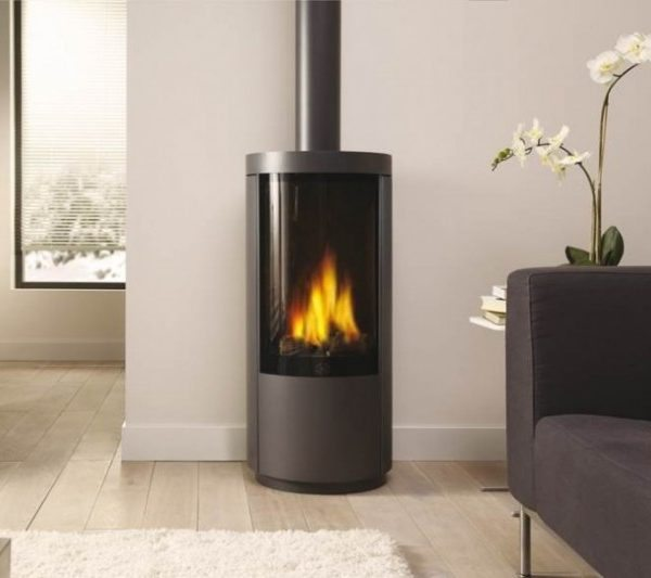 Dru Circo Freestanding Gas Fire by West Country Fires, gas fires southampton, hampshire