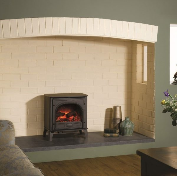 Gazco Stockton Electric Stove by West Country Fires, Fireplace showrooms in Southampton, Hampshire, UK