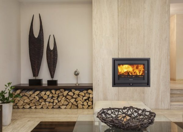 Jetmaster 60i low inset stove by West Country Fires woodburning stoves Hampshire, UK