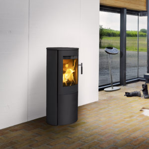 Lotus Mira 3 steel sides) wood burning stove