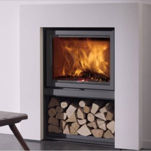 Stuv 16 woodburning fireplace suite by West Country Fires Totton, Hampshire, UK