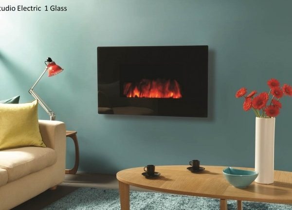 Gazco Studio Electric Fire by West Country Fires, Fireplace showrooms in Southampton, Hampshire, UK