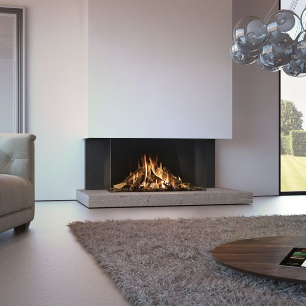 how to stop wood burner glass going black