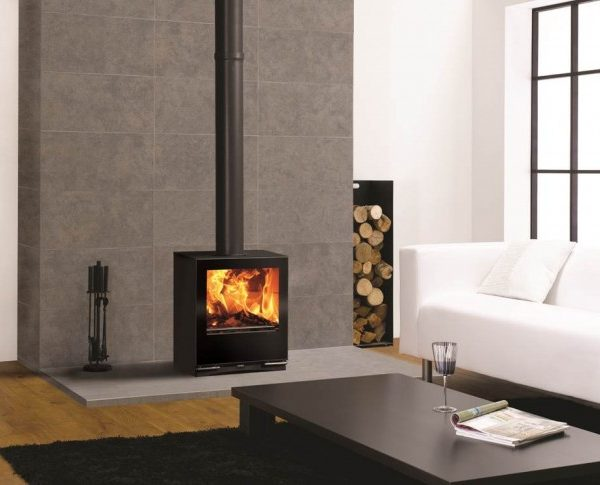 Stovax Riva vision medium stoves by West Country Fires, Fireplace showrooms in Southampton, Hampshire, UK