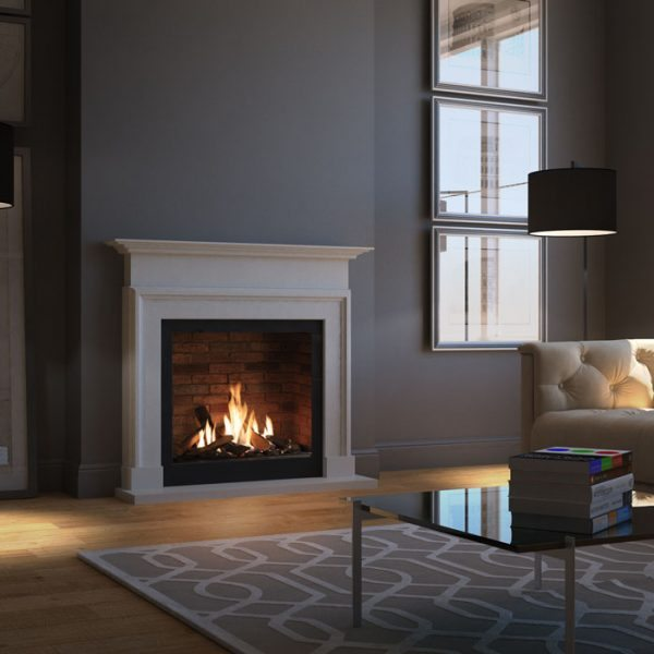 The DRU Global 70XT gas fire has been designed and developed for UK homes, with a simple chimney connection. - DRU Gas Fires Totton, Hampshire