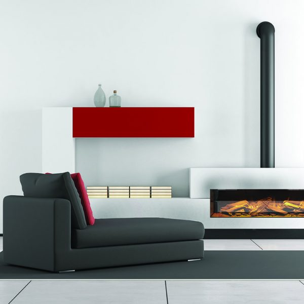 The e-series is our modern day range of built in electric fires, powered by the very latest LED lighting technology. - E Series Electric Fires Southampton