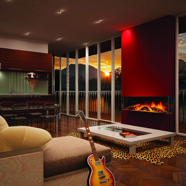 The e-series is our modern day range of built in electric fires, powered by the very latest LED lighting technology. - Evonic Fireplaces Southampton