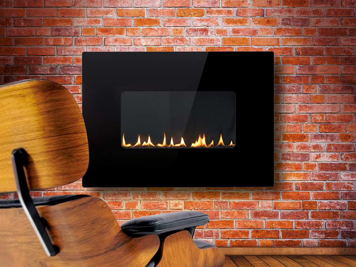 esse 41 firewall flueless fire west country fires. Black Bedroom Furniture Sets. Home Design Ideas