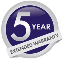 Gazco 5 year extended warranty
