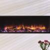 Gazco Skope 105R Inset electric fire with Log & Pebble fuel effects