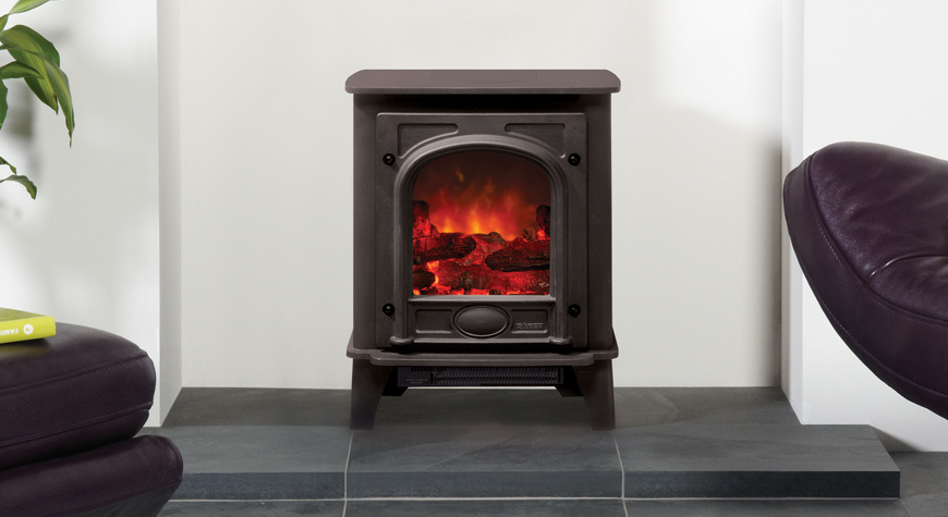 Gazco Stockton 5 Electric Stove West Country Fires