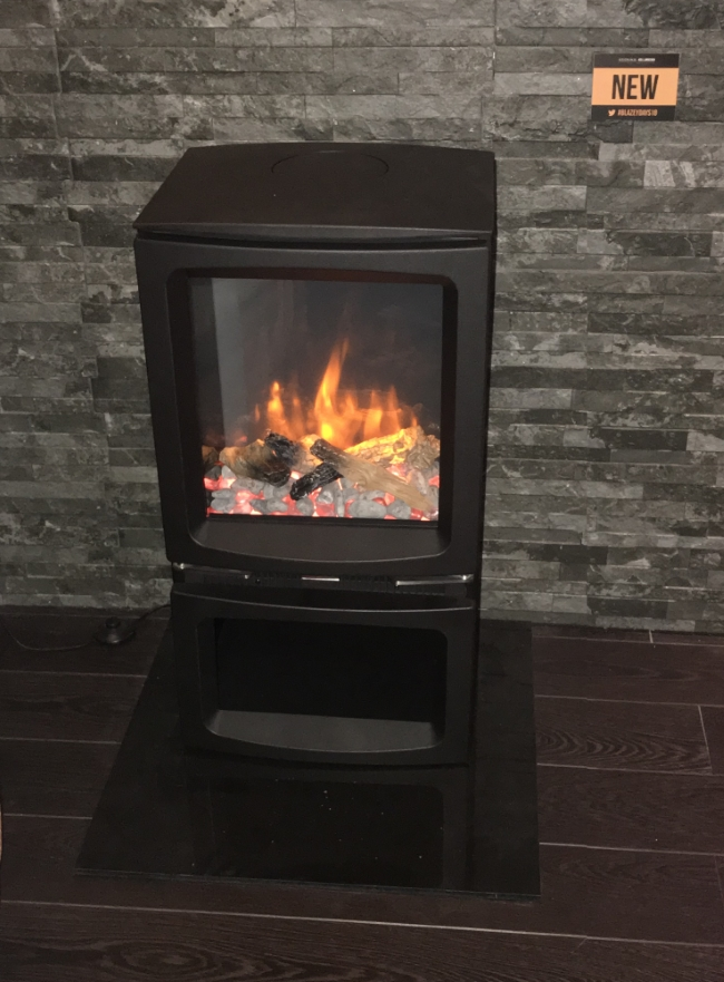 New Gazco Vogue Midi Electric Stove West Country Fires