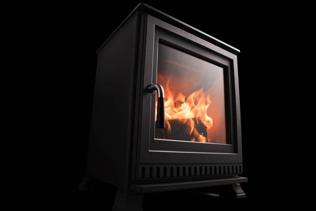 Dik Geurts Aste 5 Low Wood Burner West Country Fires