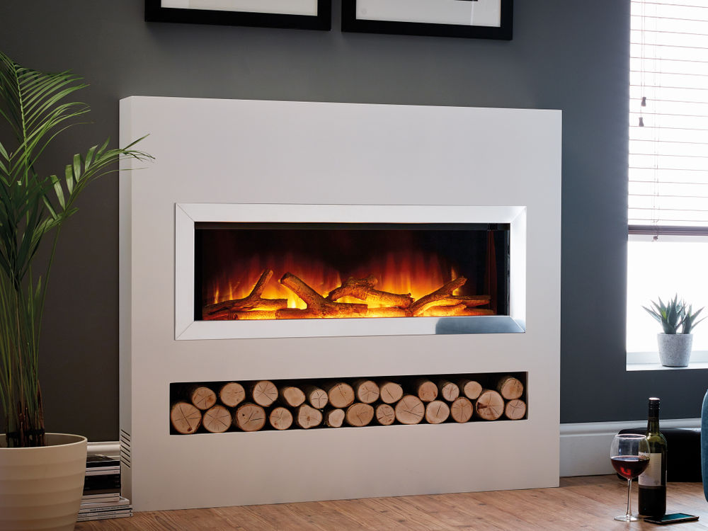 Gotham 900 electric fire suite