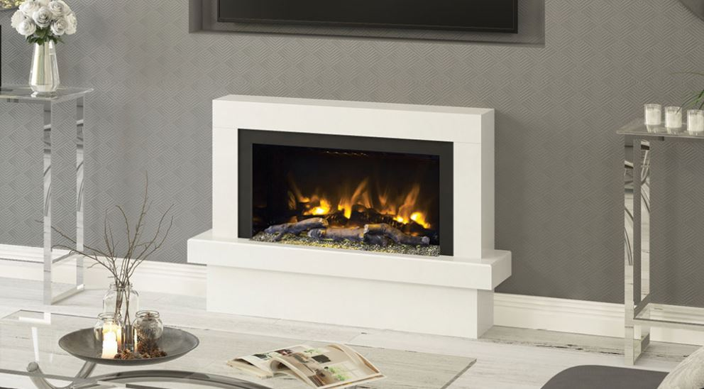 Elgin Amp Hall Pryzm Impero Electric Fire Suite West