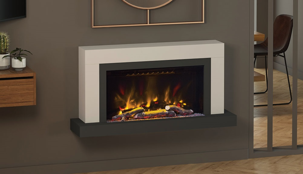 Elgin Amp Hall Pryzm Vardo Electric Fire With Timber Surround