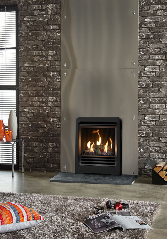 Gazco Logic He Beat Inset Gas Fire West Country Fires