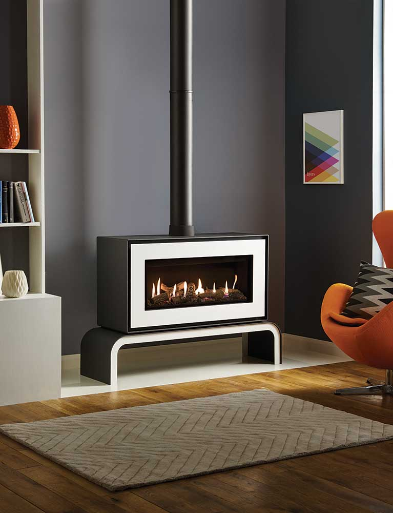 Gazco Studio 2 Freestanding Gas Fire West Country Fires