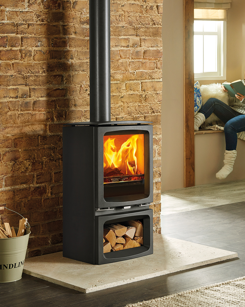 Stovax Vogue Midi Wood Burning Stove West Country Fires