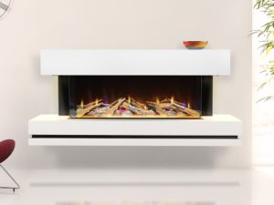 Celsi Electriflame VR Volare 1100 in Illumia suite close up
