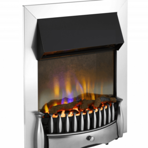 Dimplex Braemar Chrome optiflame 3d inset electric fire